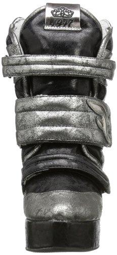 Fornarina - Kimbra, Stivali Donna Multicolore (Mehrfarbig (black/anthracite 190))