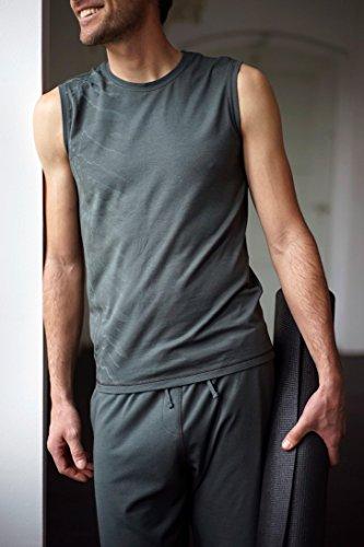 "Yoga-tank ""ajid"", Dark Olive S Kismet Yogastyle"