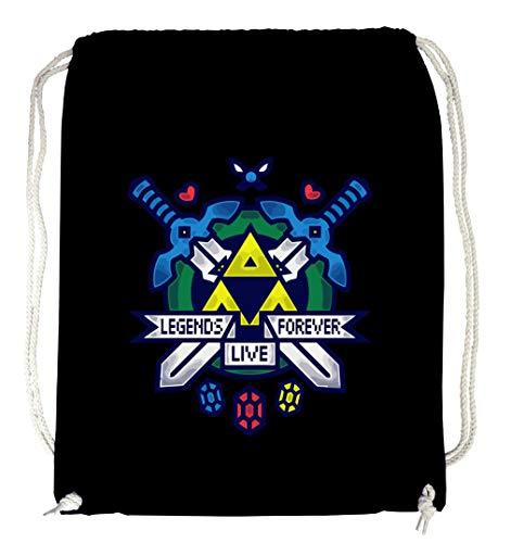 ver Zelda Gymsack Black ()