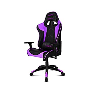 Drift DR300 – DR300BP – Silla Gaming, Color Negro/Morado