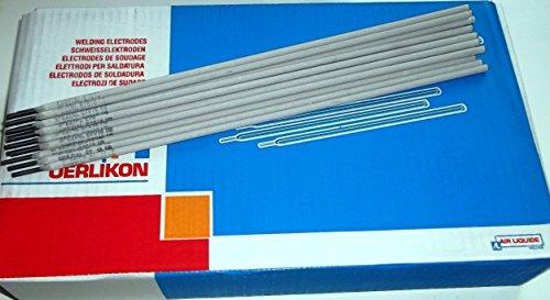 Oerlikon Fincord - Electrodos de soldadura (125 unidades, 3,2 x 350 mm)