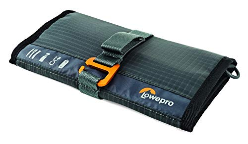 Lowepro GearUp Wrap: Compact Travel Organizer for Phone Cables, Adapters, USB Memory Sticks and Small Devices -