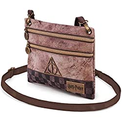 Karactermania Harry Potter Relic-Action Mini Horizontal Schultertasche Bolso Bandolera 22 Centimeters Multicolor (Multicolour)
