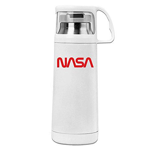 Bestseller NASA Logo Abdeckung Cup Isolierung Cup aus Edelstahl Reise Tassen, Lecksicher Thermos