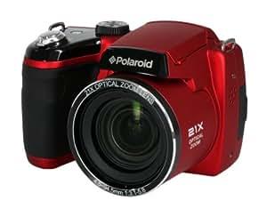 """Polaroid DSLR Style Digitale Spiegelreflexkamera - IS2132 ROT (16MP, 21x Optischer Zoom, 4x Digital Zoom, 3.0"""" Vorschau-Bildschirm, Eingebauter Blitz)"""