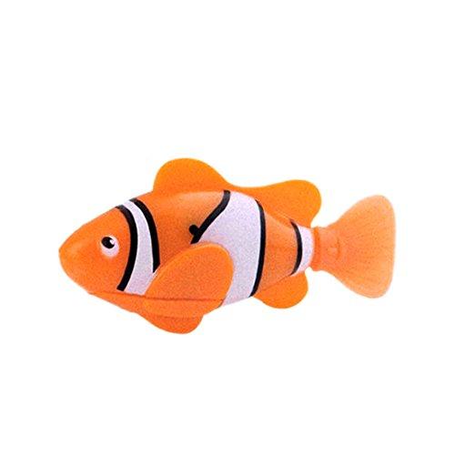 Blue Swim Cute ROBOFISH batteriebetriebener Roboterfisch, Spielzeug (Roboter-fisch)