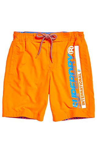 Superdry Herren Boardshort Shorts, Havana Orange VQH, XL