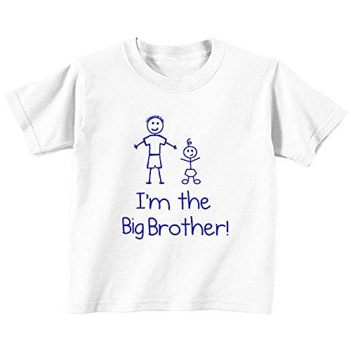 im-the-big-brother-collezione-bambino-e-neonato-colore-bianco-per-bambini-disponibile-in-misure-da-0