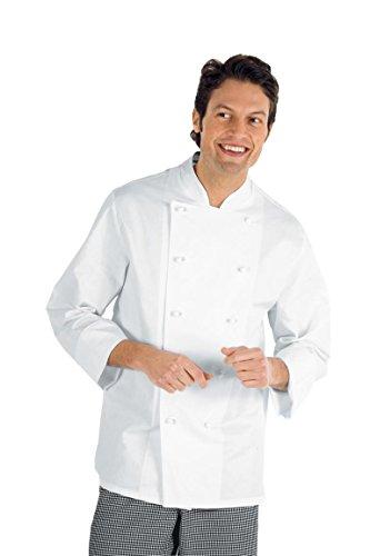 Kochjacke Basic weiß langarm Gr. XXXL