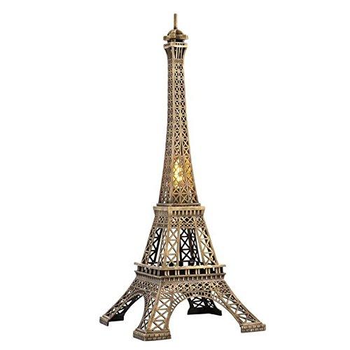 eichholtz Torre Eiffel Lampada in ottone vintage, bronzo o cromo
