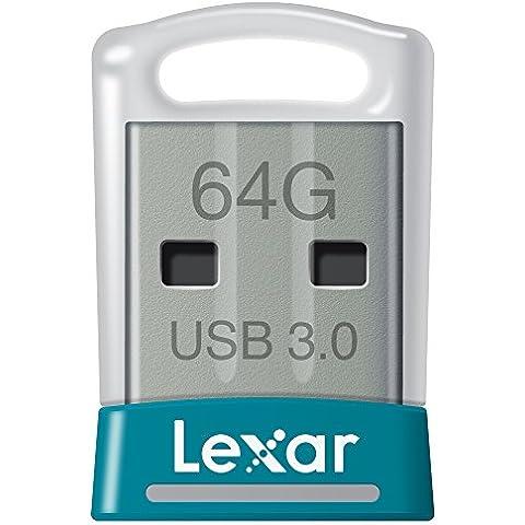 Lexar JumpDrive S45 - Memoria USB 3.0 de 64 GB - LJDS45-64GABEU