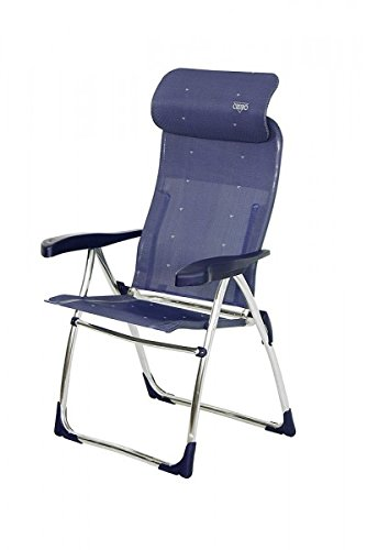 So longue conservation – Stabielo – 2 x Chaise de camping – Stabielo – 105 cm – 7 positions – Stabielo Exclusif Fauteuil en aluminium – 4,5 kg facile – Anthracite/125 kg Charge – Holly Sunshade de Supplément Contenu Bar avec Holly compartiments schirmen – Holly® produits Stabielo Innovations fabriqué en Allemagne – Holly Sunshade -
