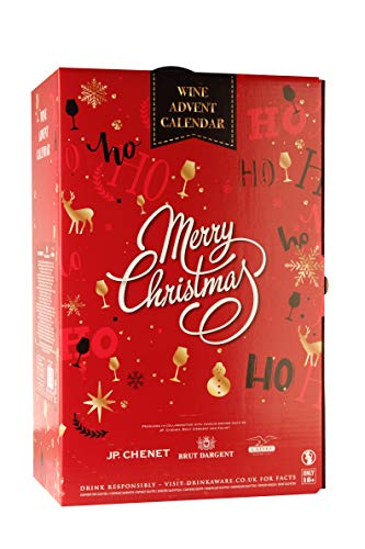 Wine and Sparkling Advent Calendar, Case of 24