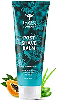Bombay Shaving Company Post-Shave Balm- After Shaving Lotion with Witch Hazel, Alcohol Free - 100 g   Made in