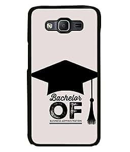 PrintVisa Designer Back Case Cover for Samsung Galaxy On 7 (Bachelor of business administration)