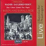 Wagner - Das Liebesverbot/Hass · Coburn · Schunk · Prey · Engen · Sawallisch [Bayerische Staatsoper 1983] [Import anglais]