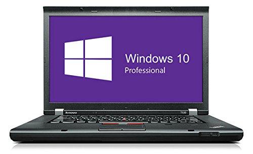 Lenovo T530-Core i5-3320m @ 2,6GHz-4GB RAM-320GB HDD-Senza LW-WIN10pro nero nero B) 8GB RAM | 240GB SSD