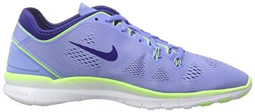 Nike Damen Wmns Free 5.0 Tr Fit 5 Hallenschuhe Blau (Blau;gelb)
