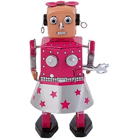 Robot Giocattolo Di Latta Vento Fino