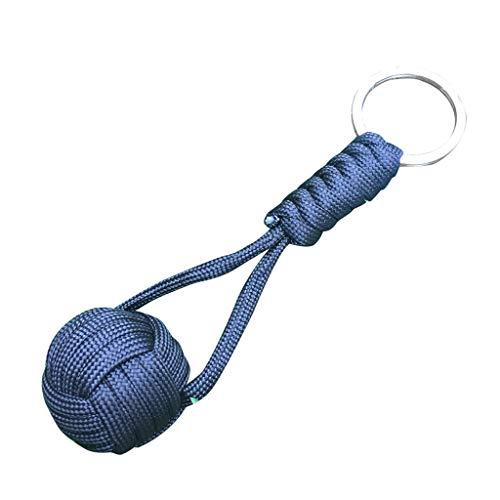 TianranRT Porte-clés clé bague Paracord urgence survie cordon balle camping kit