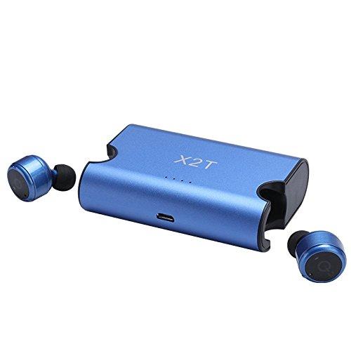 tkstar Mini Wireless Bluetooth-Kopfhörer, Noise Cancelling und True Kabelloser Sport Bluetooth earbub V4.2Für iPod Wireless In-Ear Stereo Surround Sound Headset Kopfhörer Wireless Ipod Stereo