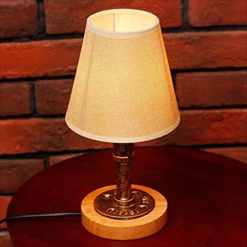 Lampade da scrivania Creativo lampada da tavolo minimalista scrivania camera da letto Nordic caldo poggiatesta luce regolabile interruttore della luce (Dimensioni: 12 * 29.5 * 15.5 cm) lampada da tavo