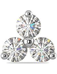 Joyalukkas Pride Diamond Collection 22k Yellow Gold and Diamond Nose Pin for Women