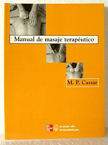 Manual de masaje terapeutico por M.P Cassar