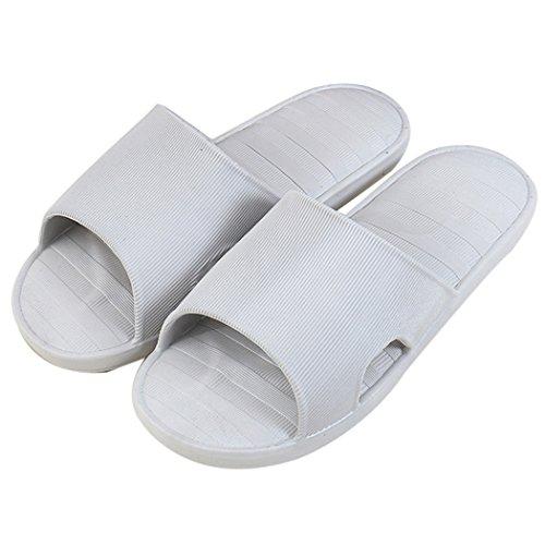 Bad Hausschuhe, outgeek 1 Pair Bad Hausschuhe Modische Rutschfeste Haus Sandalen für Männer Grey