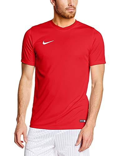 NIKE Herren Kurzarm T-Shirt Trikot Park VI, Rot (University Red/White/657), Gr. M