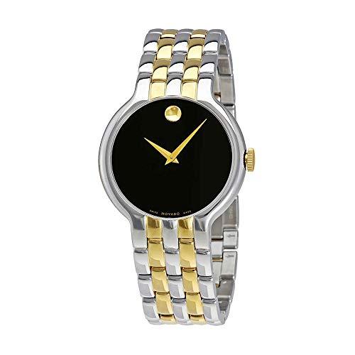 Movado Men's Two Tone Steel Bracelet Steel Case Swiss Quartz Watch 0606932