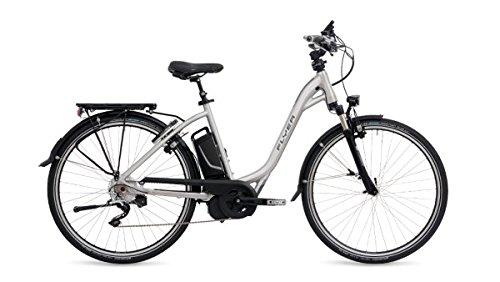 E-Bike Flyer T8.1 Tiefeinsteiger silber 2016 / 2017 div. Größen , Rahmengrößen Flyer:l 55 cm Körpergröße 180-190