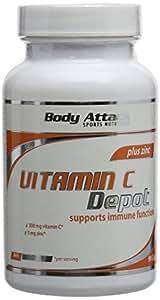 Body Attack Vitamin C Depot - Pack of 90 Capsules (Pack of 3)
