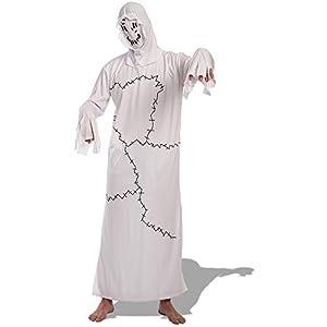 Carnival Toys - Disfraz fantasma en bolsa, talla única, color blanco (82020)