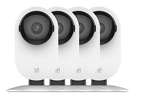 Preisvergleich Produktbild CYGG® 4Pc Home-Kamera,  1080P WI-Fi-IP-Sicherheit-Überwachungssystem mit Nachtsicht,  Babyphone auf Ios,  Android App - Cloud-Service Verfügbar