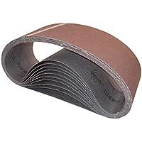 Bandas de lija HANDIT 100x915 mm. (GRANO 120, 10 UNIDADES)