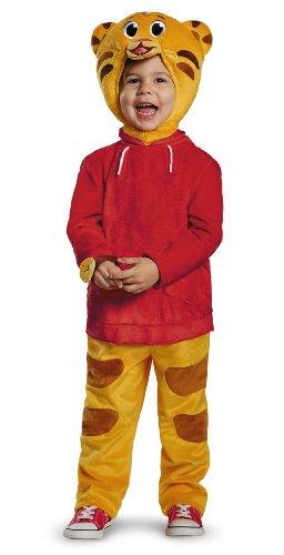 Daniel tiger's neighborhood deluxe daniel tiger child toddler costume 4-6