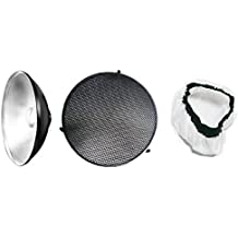 Rocwing - Silver Beauty Dish for Elinchrom Flash (41cm)