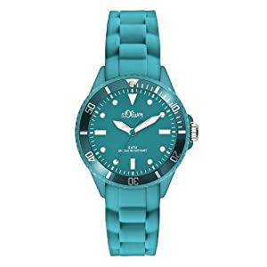 S.Oliver Unisex Analogue Quartz Watch with Silicone Strap – SO-2581-PQ