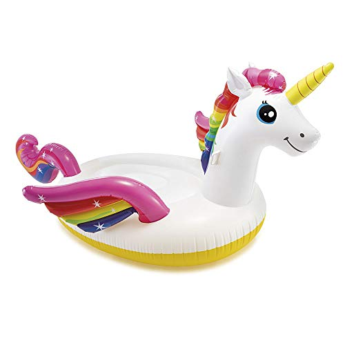 Intex 57281EU - Unicornio hinchable XL 287 x 193 x 165 cm
