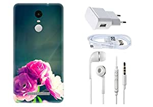 Spygen XIAOMI MI5 Case Combo of Premium Quality Designer Printed 3D Lightweight Slim Matte Finish Hard Case Back Cover + Charger Adapter + High Speed Data Cable + Premium Quality Handfree