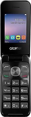 Alcatel 2051X Flip Clamshell UK SIM-Free Mobile Phone - Silver