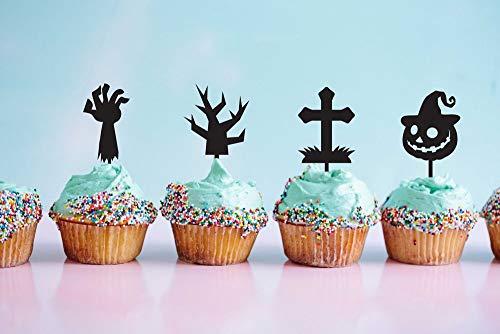 Happy Halloween, Cupcake-Topper, Zombie-Kuchenaufsatz, Halloween, Party-Idee, Halloween, Custom Halloween, Schilder, Halloween, Ideen, DIY Halloween