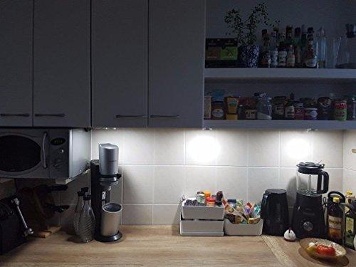 Meikee kit luci led sottopensile watt totali lumen