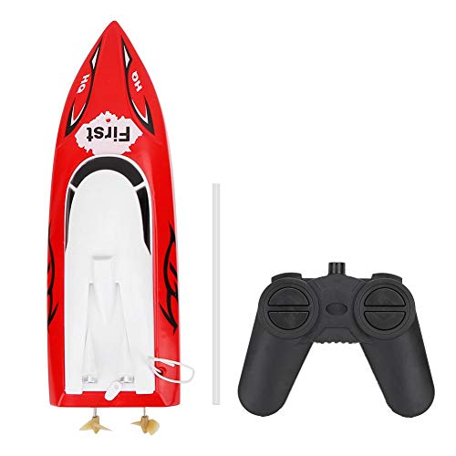 VGEBY1 Fernbedienung Modellboot, Mini Infrarot Regatta Schnellboot Spielzeug für Kinder