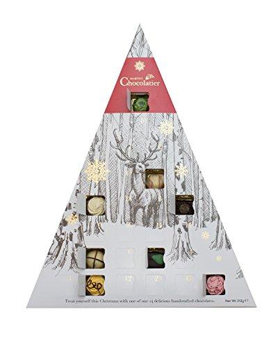 Luxus Schokolade Adventskalender - Weihnachten Schokolade Adventskalender