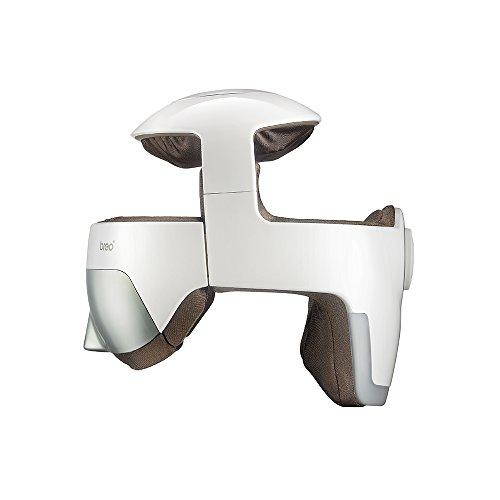 Breo iDream5 Kopf-Massagegerät, wiederaufladbare Auge Massagegerät 2-in-1-Helm-Massagegerät mit Wärme, Luftkompression, APP-Steuerelement Nackenmassagegerät für Stressabbau und tiefen Schlaf