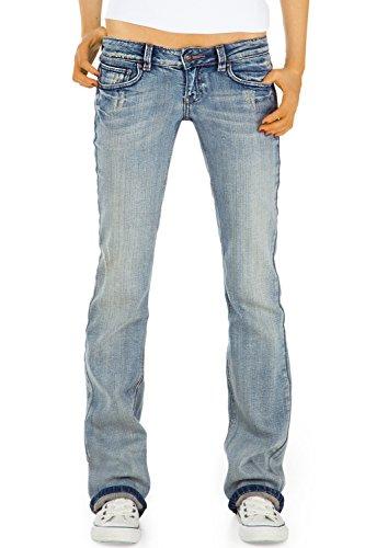 Bestyledberlin Donna Pantaloni Jeans, bootcut / Jeans j23kw 36/S Blu