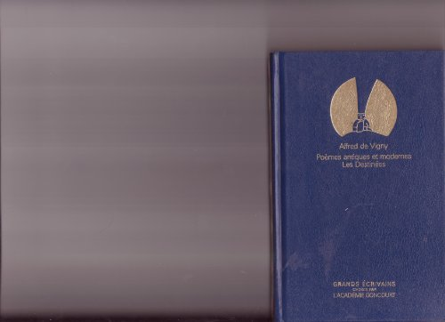 Poemes Antiques Et Modernes Les Destinees [Pdf/ePub] eBook