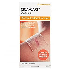 Cica-Care Silicone Gel Sheet 12cm x 6cm by Cica-Care